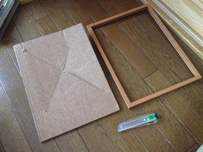 百円ショップのコルクボード